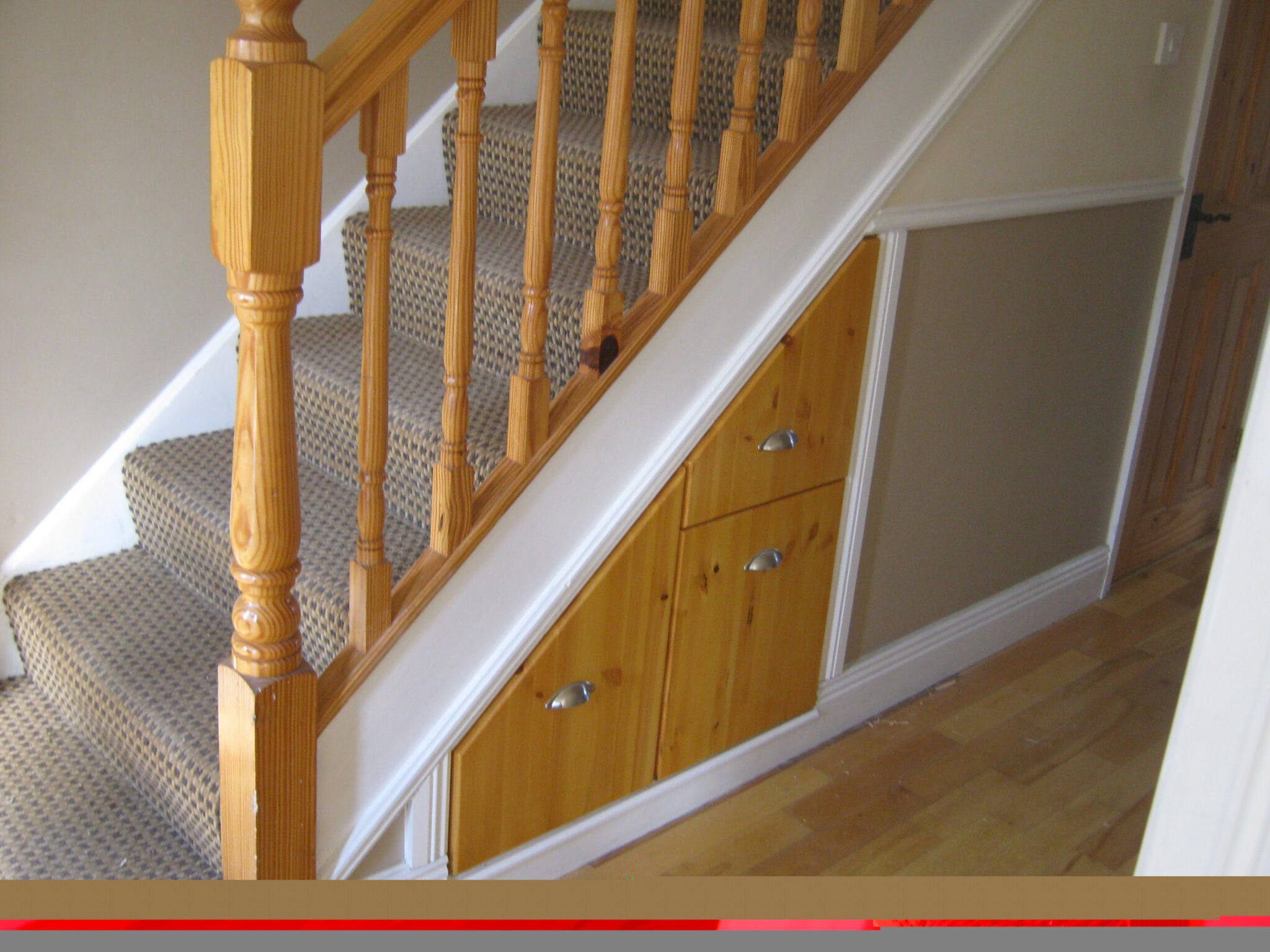understair Storage drawers. Understair storage ... & understair Storage drawers - Maguire Carpentry Services Carpenter ...